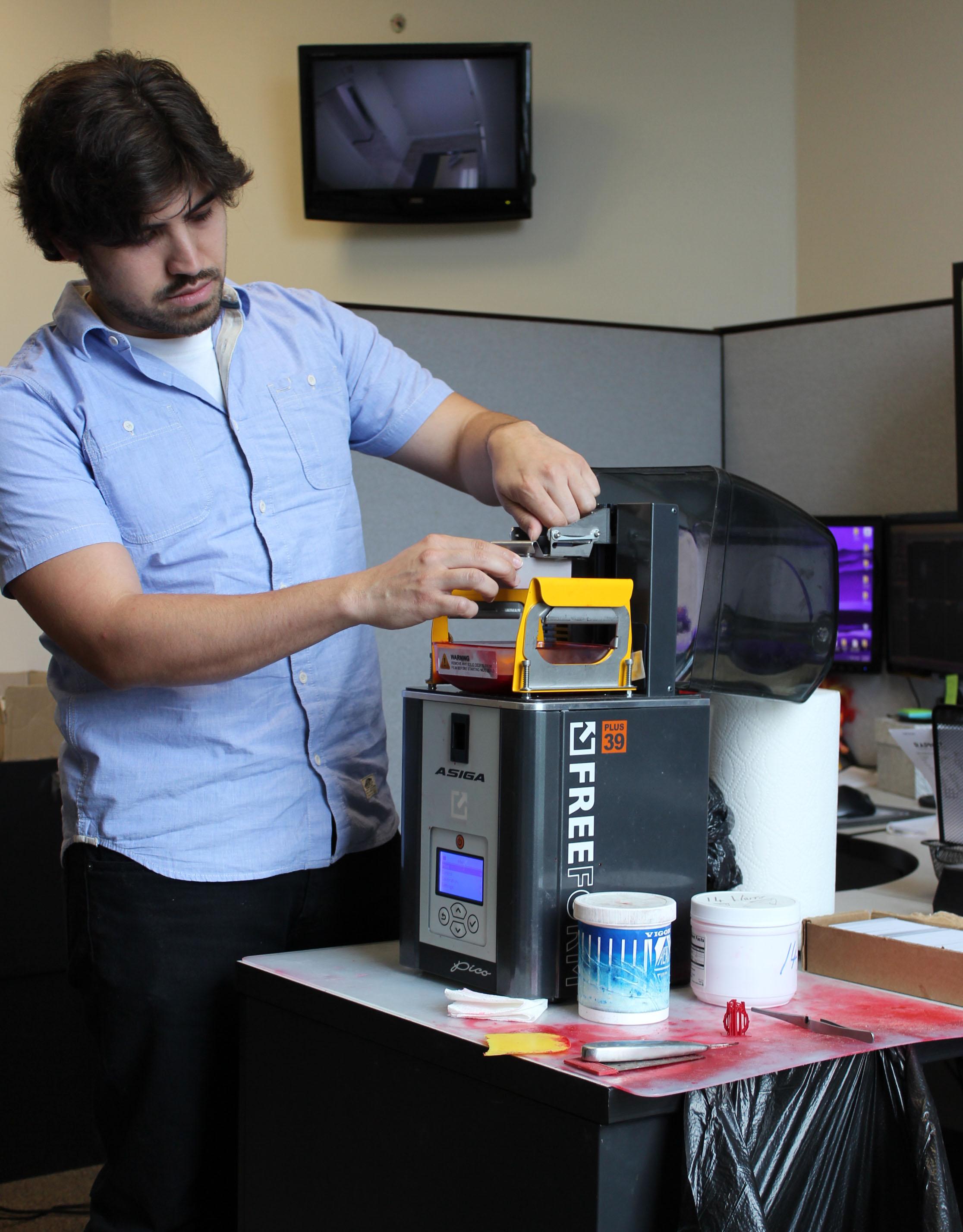 DBD Designer Using 3D Printer