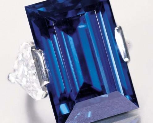 Rockefeller Sapphire 62.02 carat